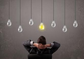 shutterstock lightbulb and man
