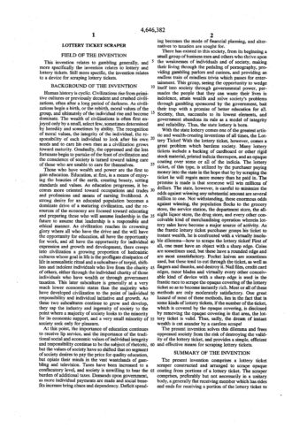US Patent background of the invention