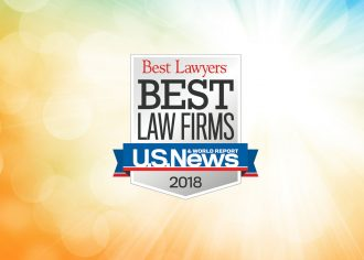 2018 Best Law Firms For Patents Trademarks IP Litigation Award Logo