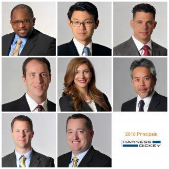 Harness Dickey IP Attorneys New Principals 2018
