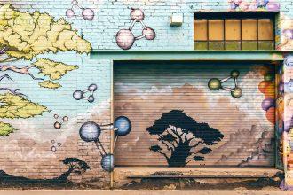 Image of Wall with Graffiti protected by VARA Rights