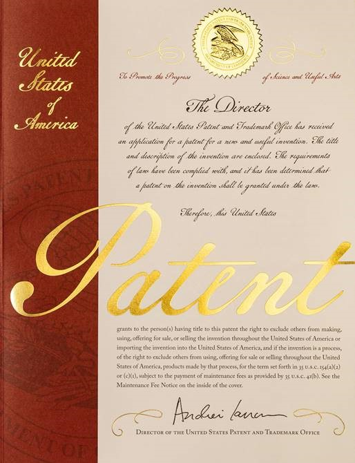 Image of an Original Letters Patent