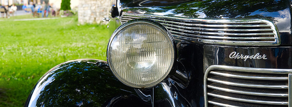 Photo of a Classic Chrysler with Patented Automotive Technology