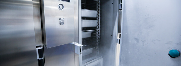 Commercial Refrigerator Using Patented Scroll Compressor Technology