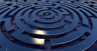 circular logic of patent claims and litigation
